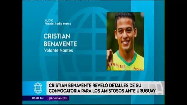 Benavente confirmó convocatoria de Ricardo Gareca