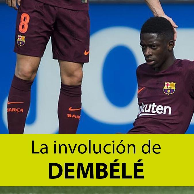 La involución de Dembélé: los motivos que hunden la carrera del francés