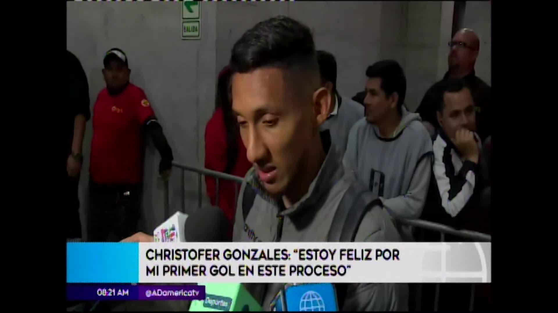 'Canchita' Gonzáles se mostró feliz por su anotación