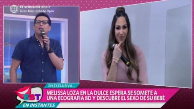 Melissa Loza reaparece y ofrece detalles de embarazo