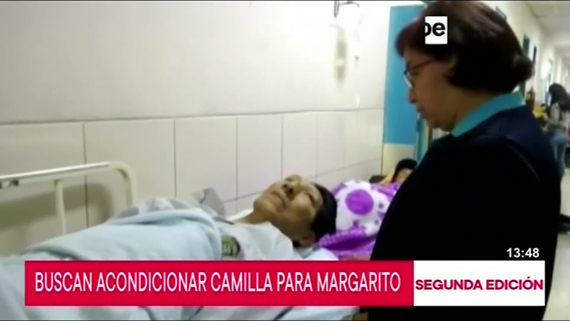 Chiclayo: autoridades médicas buscan las mejores condiciones para Margarito