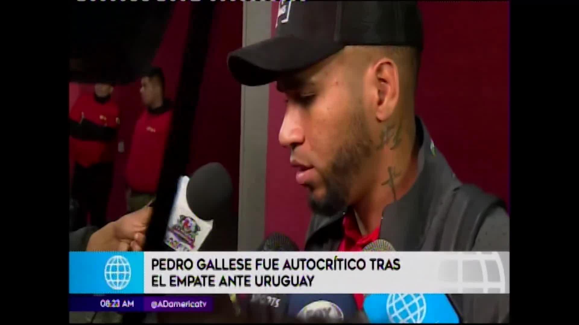 Pedro Gallese realiza autocrítica y apunta a mejorar