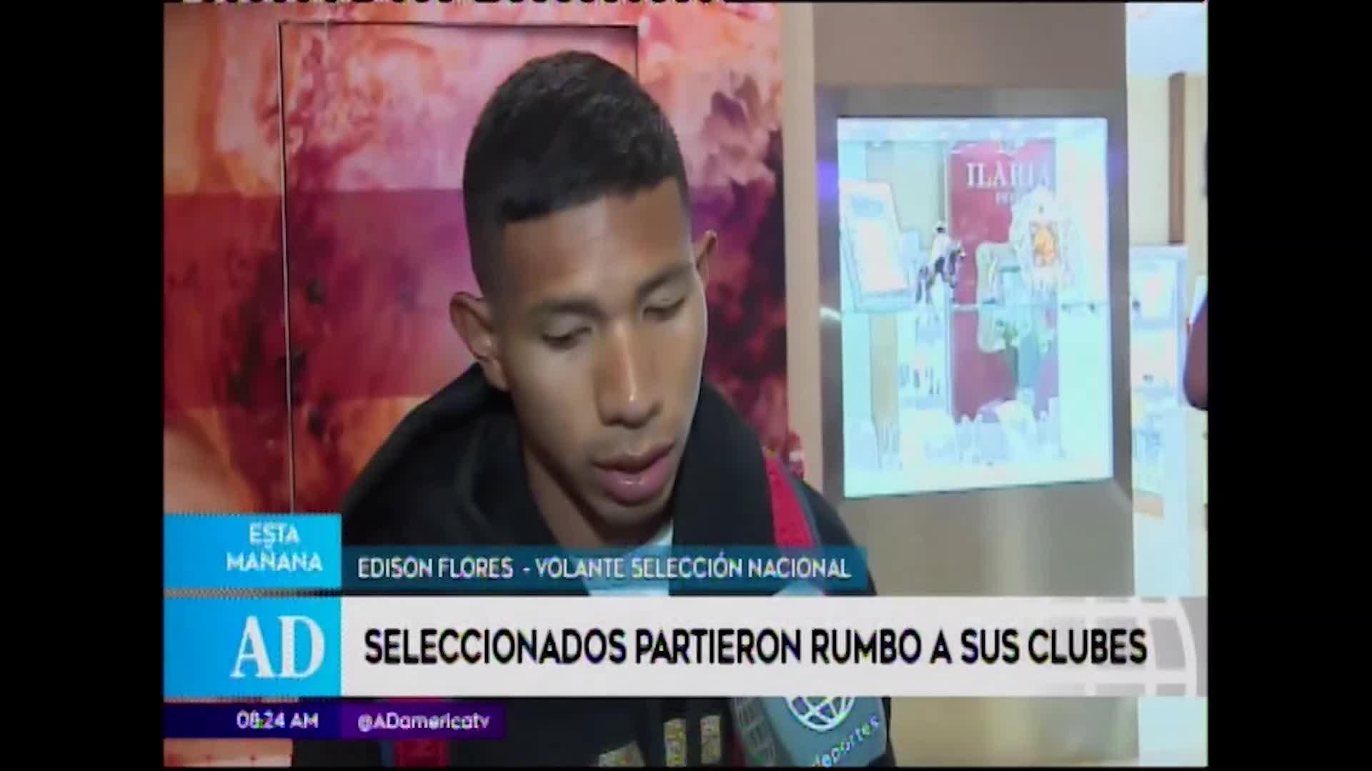 Edison Flores aprueba rendimiento de Perú