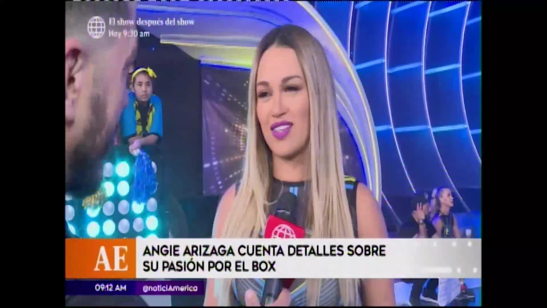 EEG: Angie Arizaga y su pasión por el box