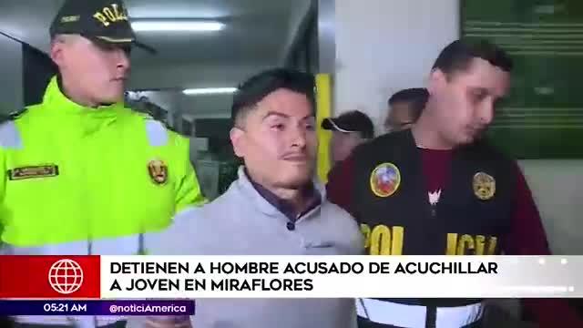 Miraflores: detienen a sujeto acusado de atacar con un cuchillo a un joven
