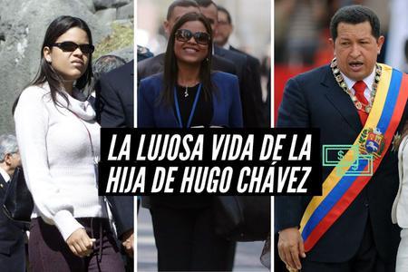 Así es la lujosa vida de la hija de Hugo Chávez en Nueva York