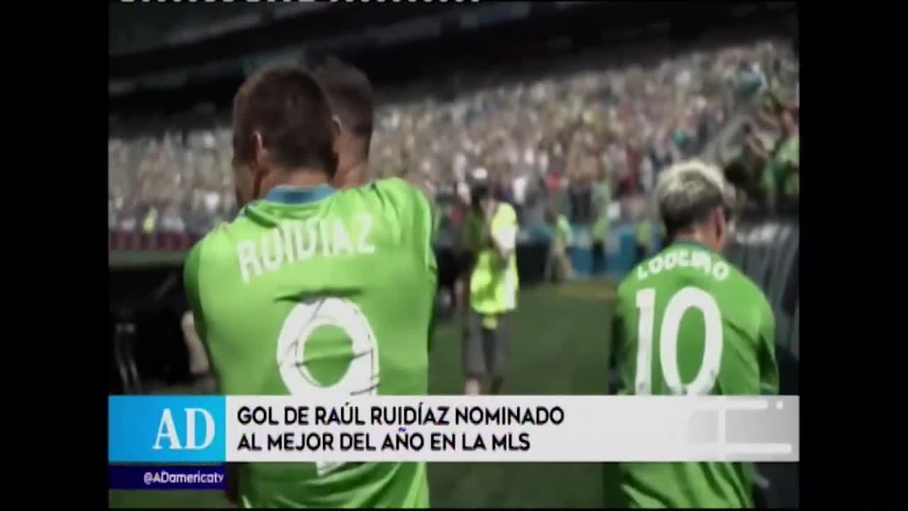 MLS nomina golazo de Raúl Ruidíaz como el mejor del año