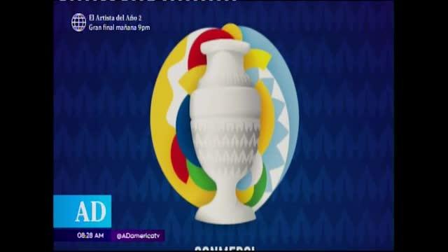 Lanzan logo de Copa América 2020