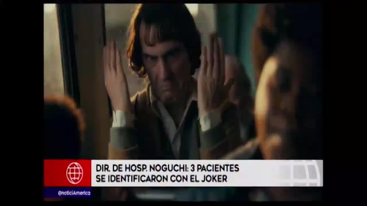"""Pacientes manifiestan sentirse identificados con el personaje de la película """"Joker"""""""