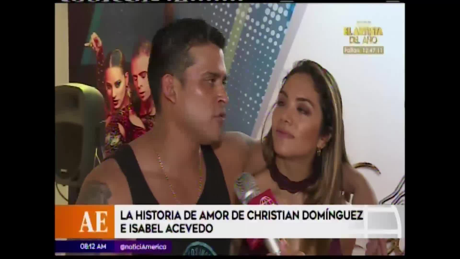 Christian Domínguez e Isabel Acevedo: la historia del amor que llegó a su fin tras tres años