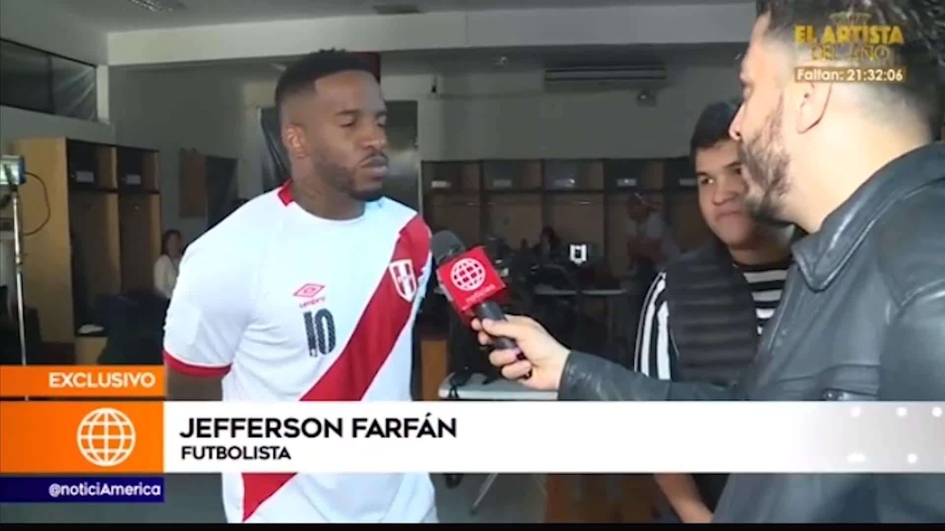 """Jefferson Farfán responde si sus exparejas aparecerán en su película """"La Foquita: el 10 de la calle"""""""