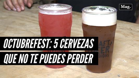 Octubrefest: Cinco cervezas artesanales que no te puedes perder