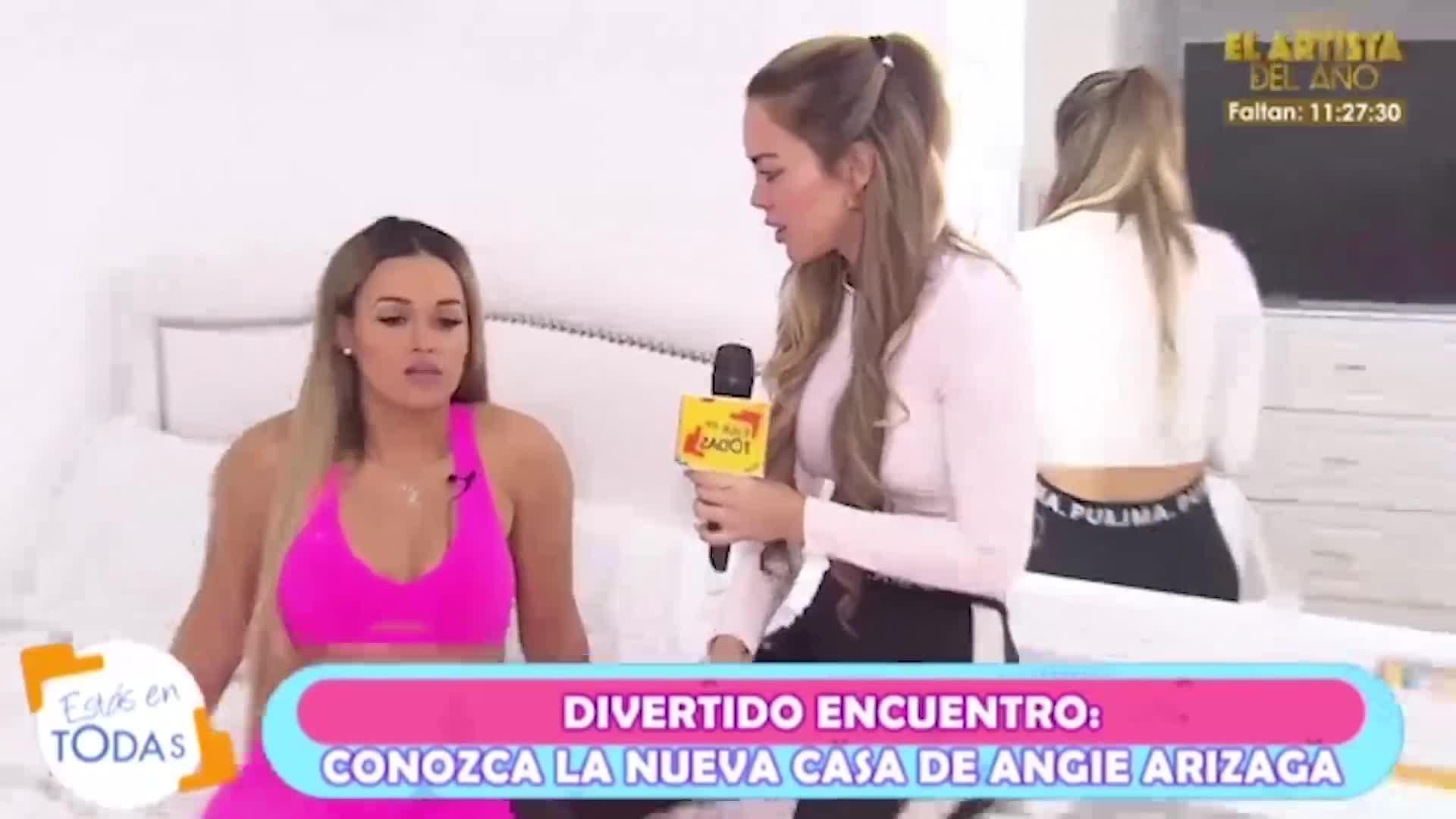 Estás en todas: Angie Arizaga reafirma su soltería y habla de sus planes junto a su familia