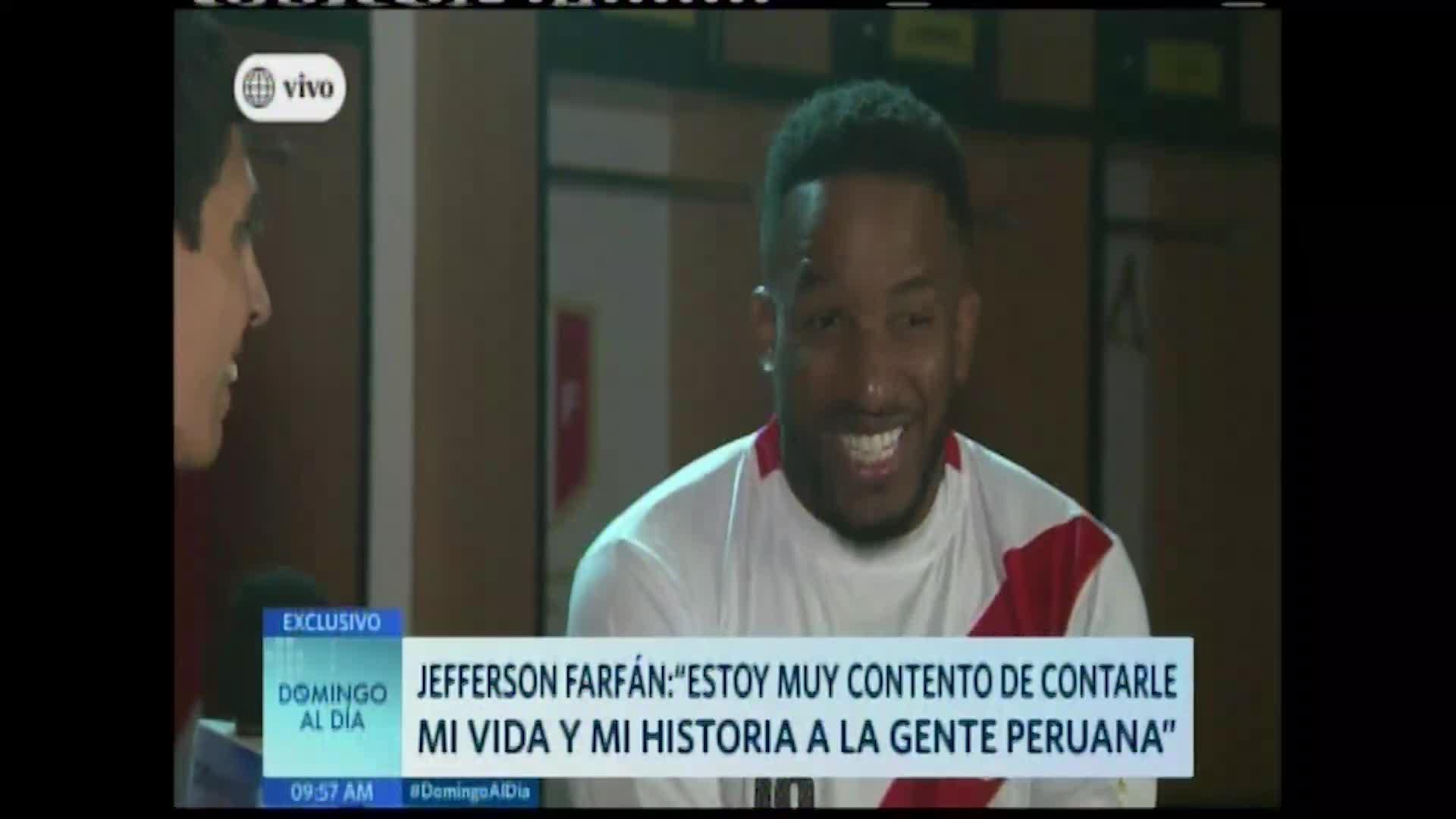 Jefferson Farfán revela detalles acerca de su película