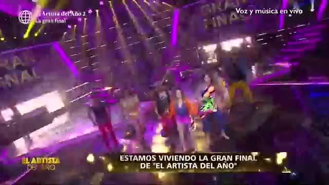 """Amy Gutiérrez y Vernis Hernández interpretaron 'La Rebelión' en la gran final de """"El artista del año"""""""
