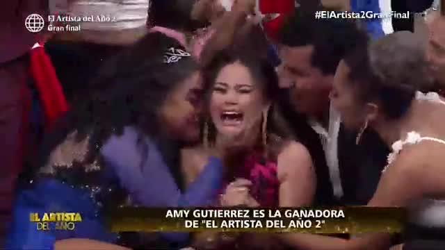 """Amy Gutiérrez se coronó como la ganadora de """"El artista del año"""""""