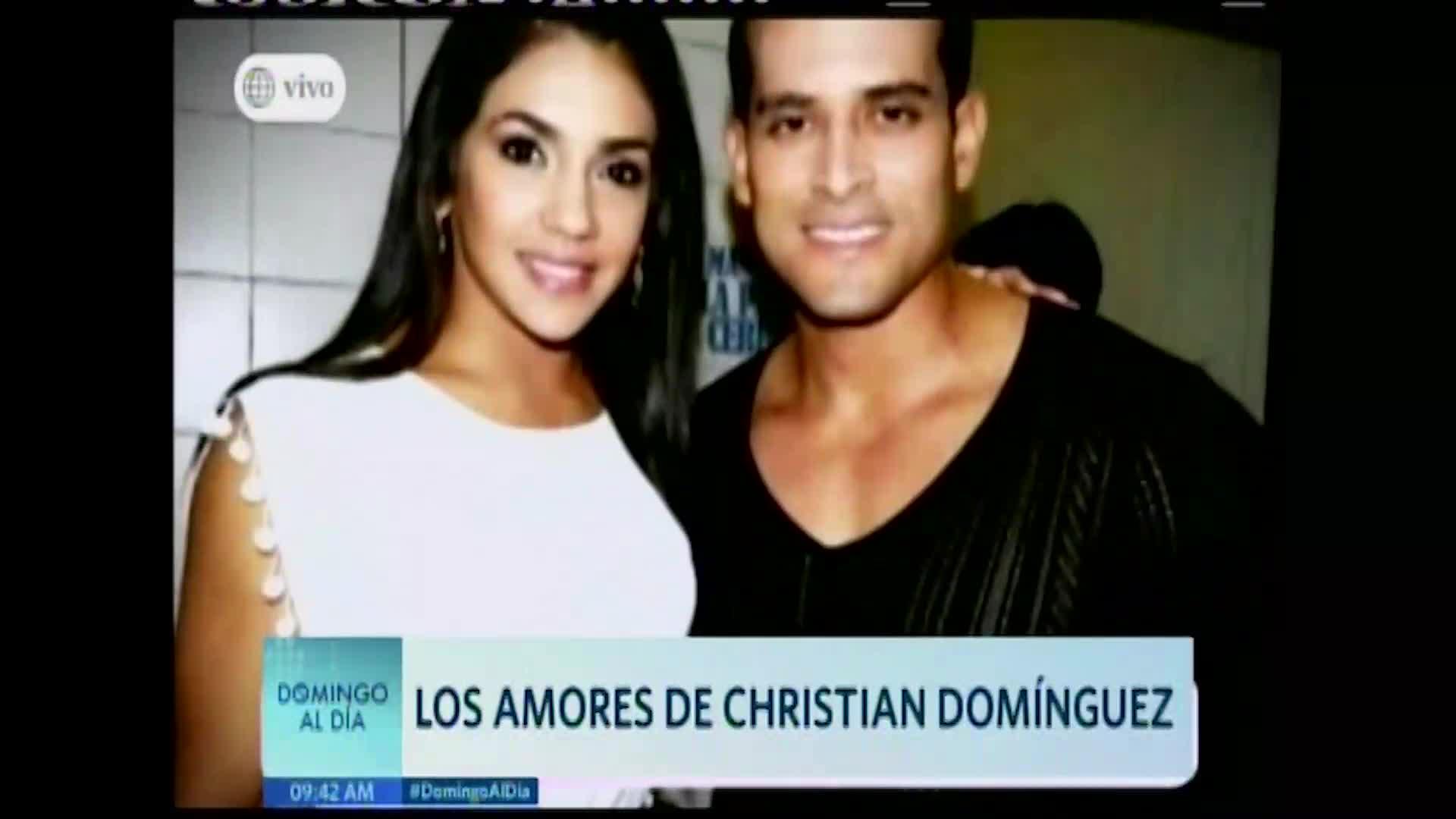 Conozca el historial amoroso del cantante de cumbia Christian Domínguez