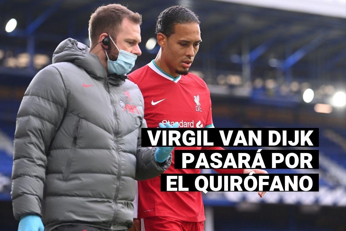 Liverpool: Virgil Van Dijk pasará por el quirófano tras romperse los ligamentos de la rodilla