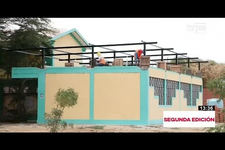 25 colegios serán reconstruidos en Piura