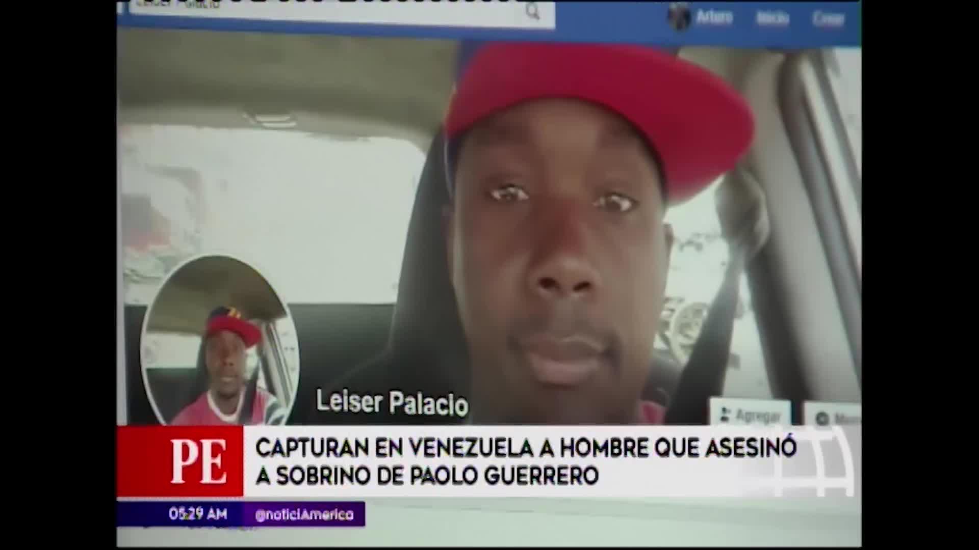 Venezuela: es capturado sujeto que atropelló a sobrino de Paolo Guerrero