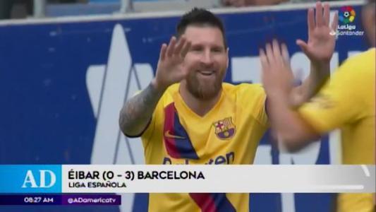 Repasa los mejores resultados del fútbol internacional