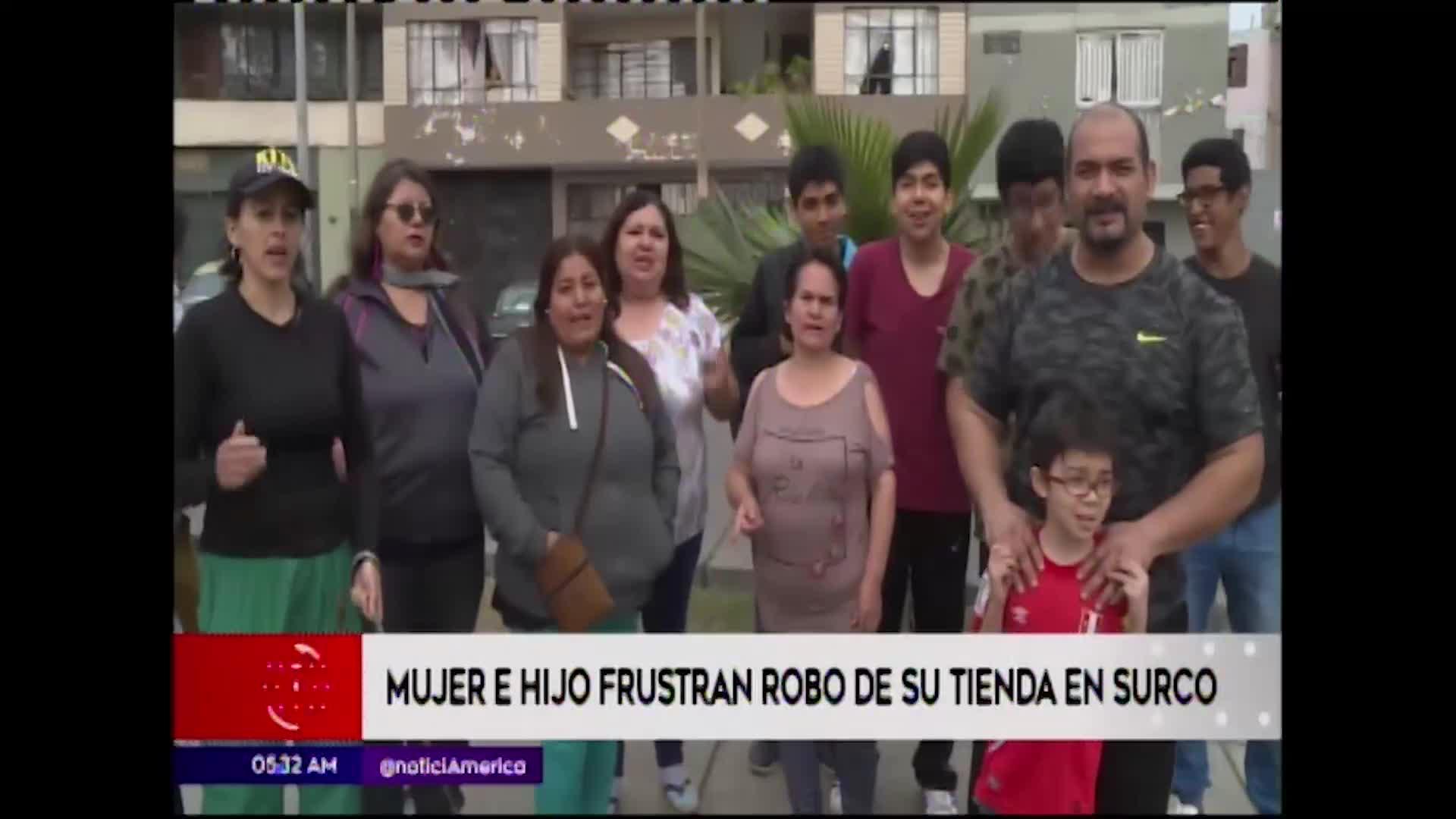 Surco: vecinos exigen ayuda a las autoridades debido a los constantes robos