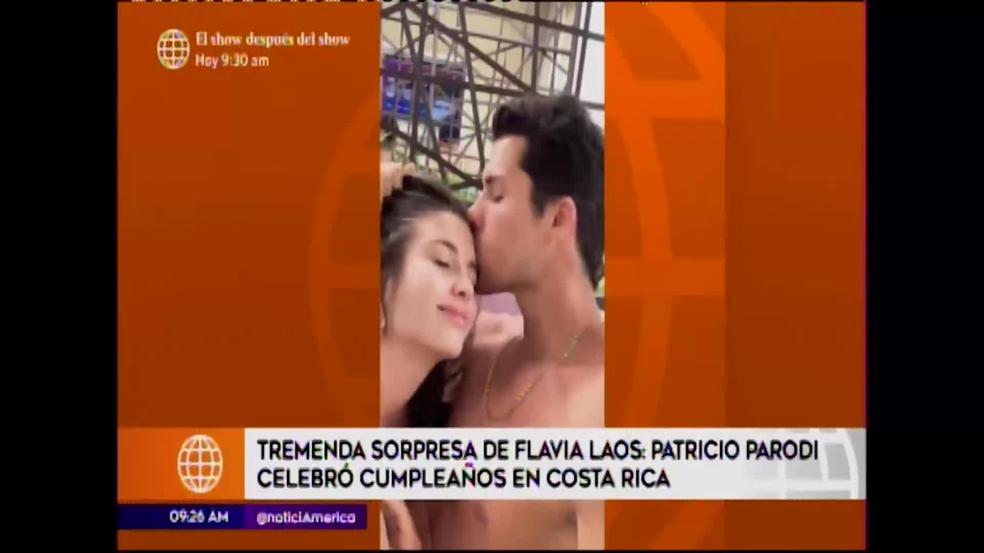 Esto es guerra: Patricio Parodi celebró su cumpleaños en Costa Rica
