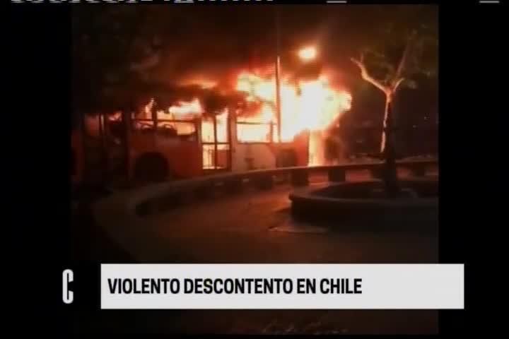 Chile: el país del sur se encuentra en estado de emergencia