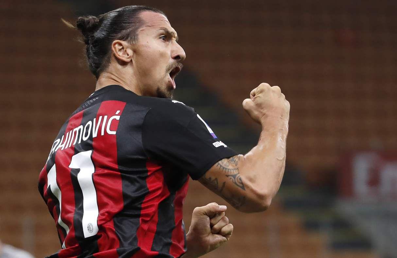 Estas son las estadísticas de Ibrahimovic con el Milán