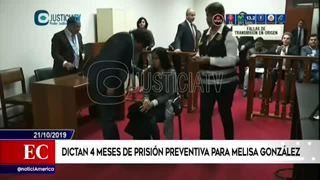 Accidente en Javier Prado: PJ dictó cuatro meses de prisión preventiva para Melisa González Gagliuffi