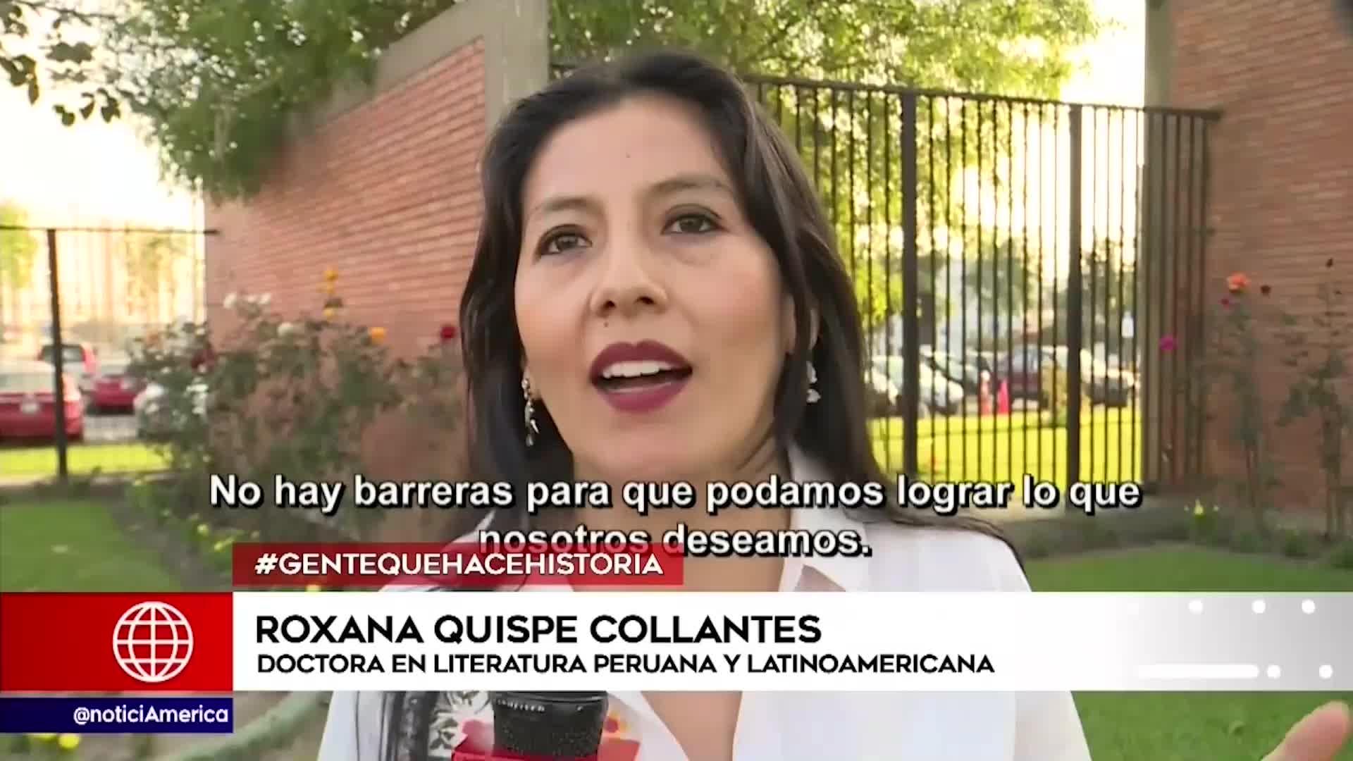 UNMSM: mujer presentó y sustentó primera tesis en quechua
