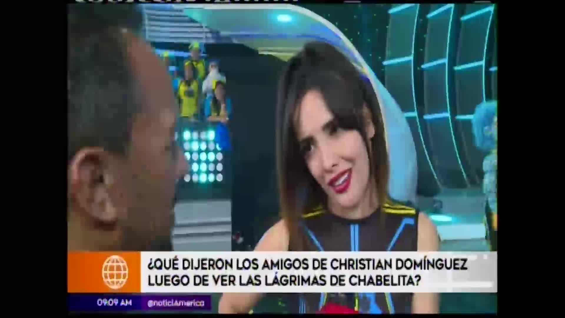 EEG: competidores opinan sobre declaraciones de Isabel Acevedo