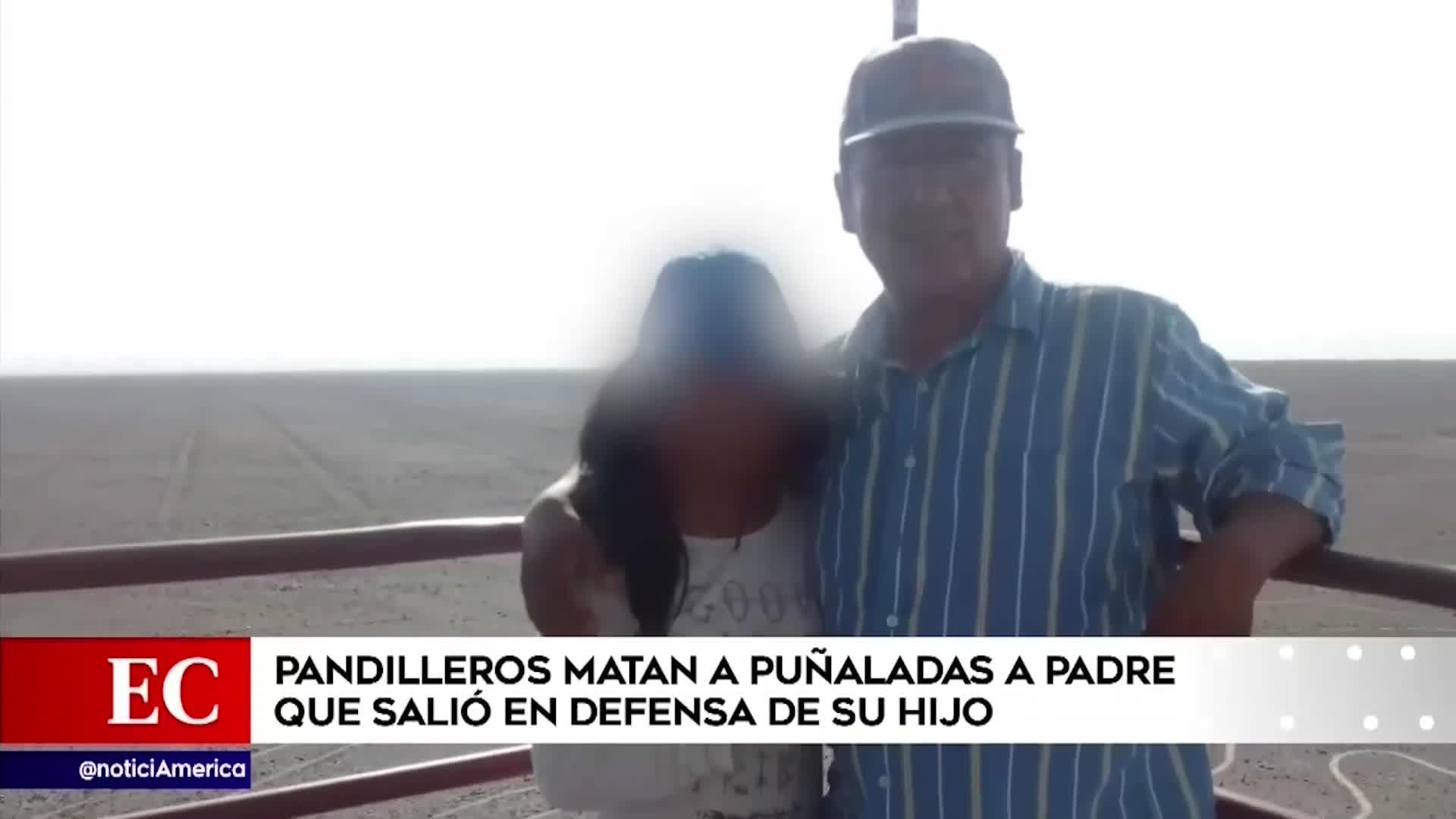 Arequipa: padre de familia muere por defender a su hijo de pandilleros
