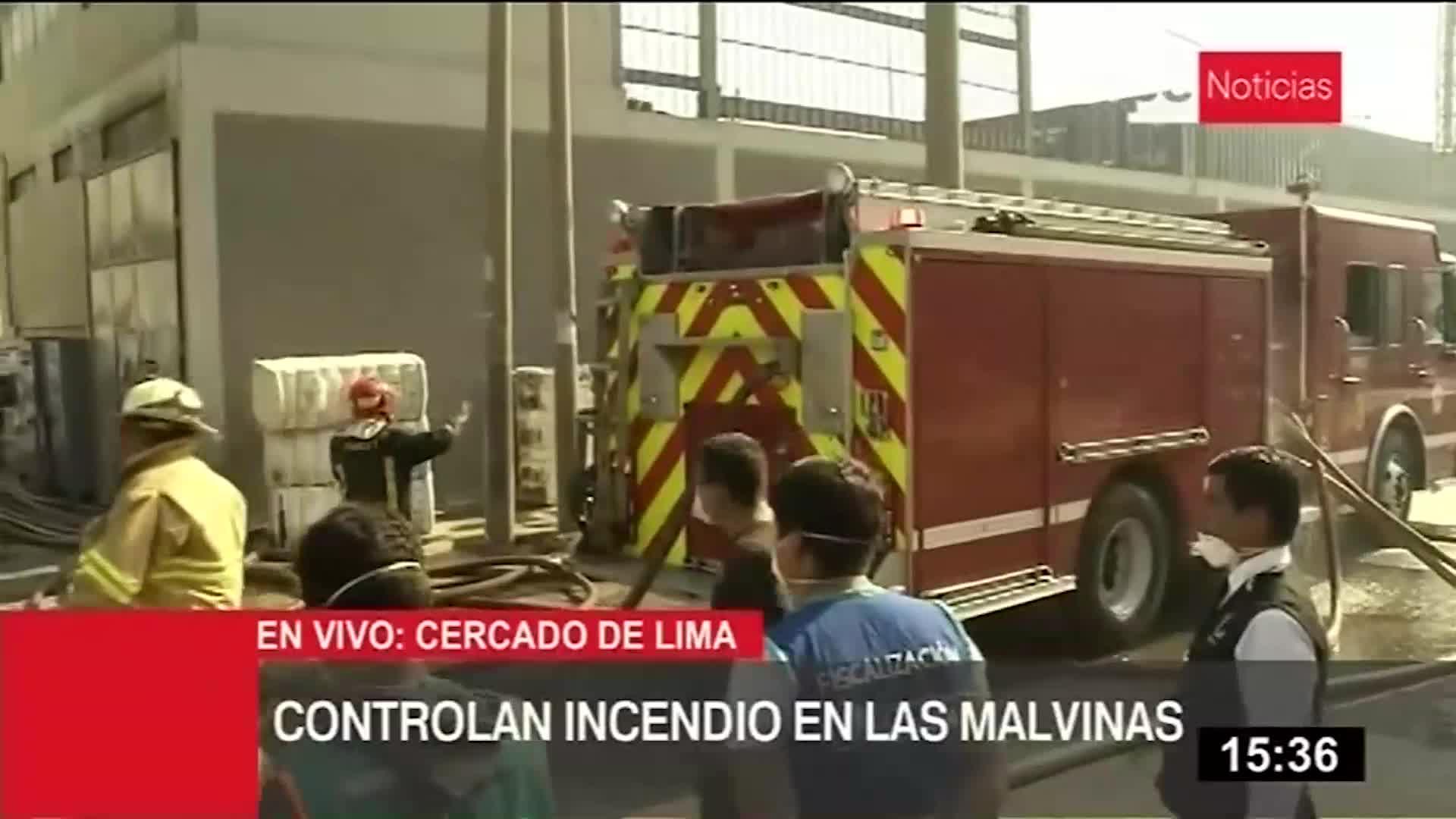 Incendio en fabrica de algodón fue controlado