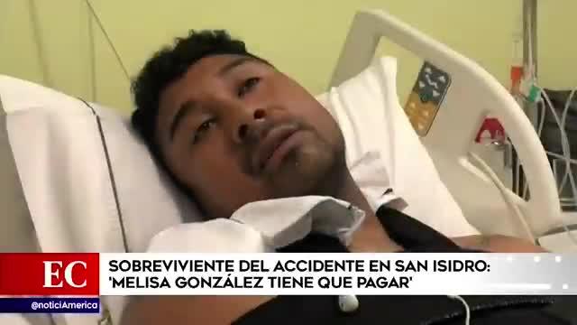 Sobreviviente de accidente en Javier Prado reveló que abogado de Melisa Gonzáles le ofreció dinero