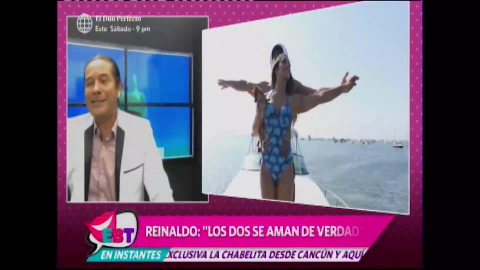 EBT: Reinaldo Dos Santos pronostica reconciliación entra Isabel Acevedo y Christian Domínguez