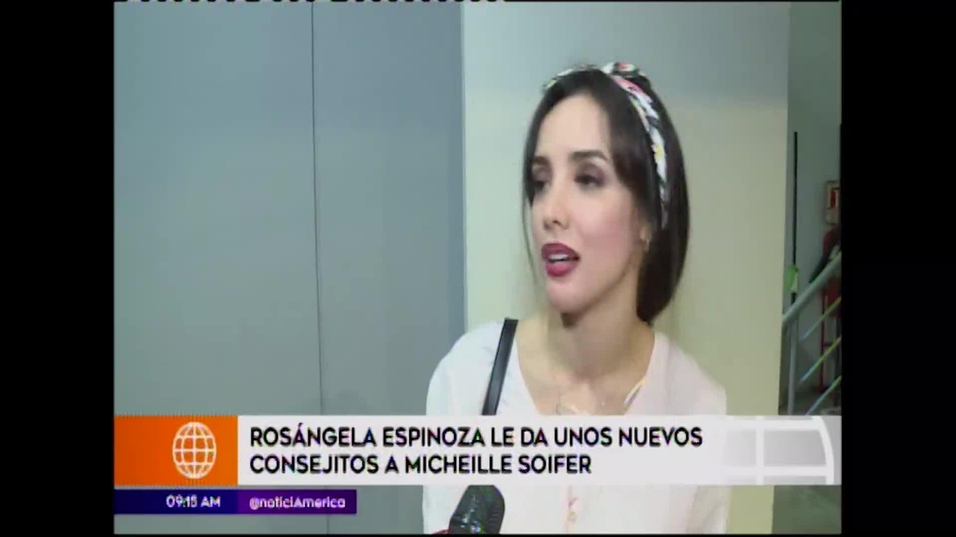 Esto es guerra: Rosángela Espinoza le da consejos a Michelle Soifer
