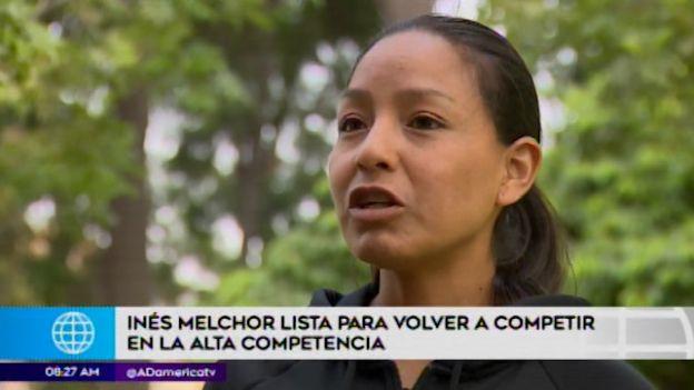 Inés Melchor vuelve a competir con miras a Tokio 2020
