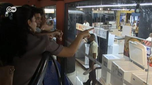 Venta de electrodomésticos en Cuba