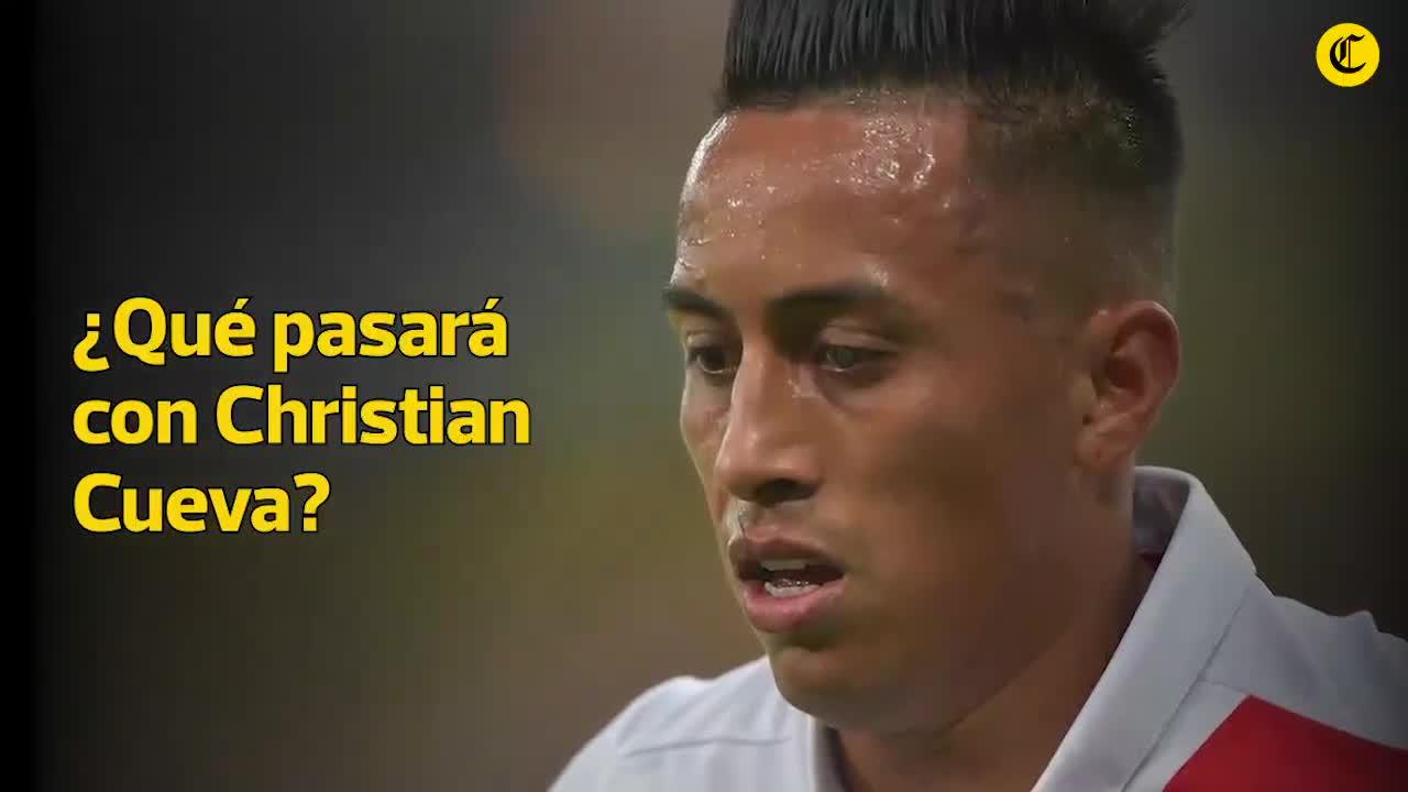 ¿Qué pasará con Christian Cueva tras su exclusión en el Santos de Brasil?