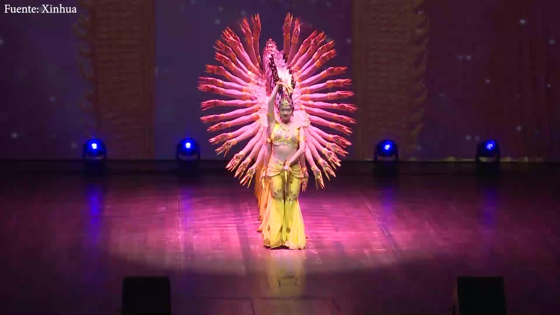 Artistas chinos con capacidades diferentes comienzan gira en Brasil