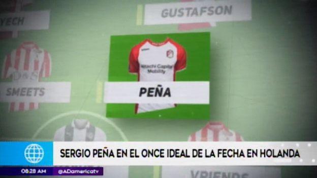 Sergio Peña se perfila como titular en la selección peruana