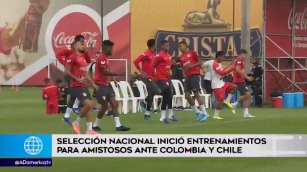 Selección peruana inició entrenamientos con miras a los amistosos ante Colombia y Chile