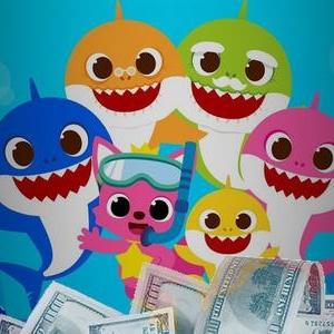 Creadores de la canción infantil 'Baby Shark' hacen una fortuna