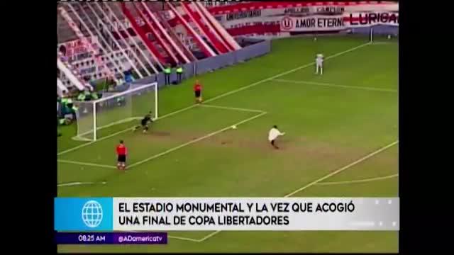 Copa Libertadores: la última vez que el Monumental recibió una final continental