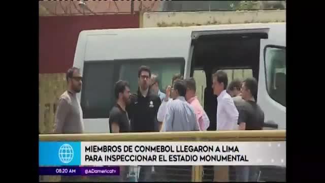Conmebol visitó instalaciones de estadio Monumental