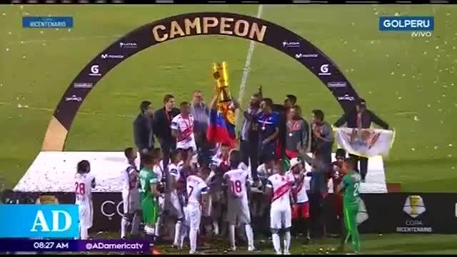 Atlético Grau se consagra en la copa Bicentenario