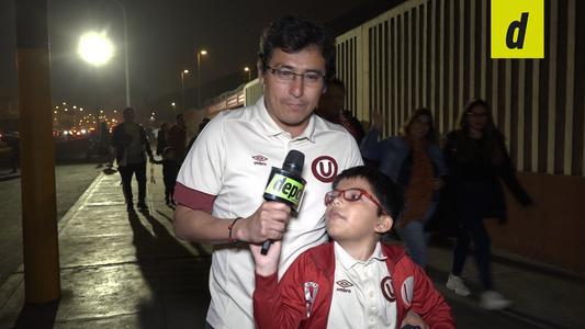 Universitario: reacción de hinchas por el triunfo ante Ayacucho FC