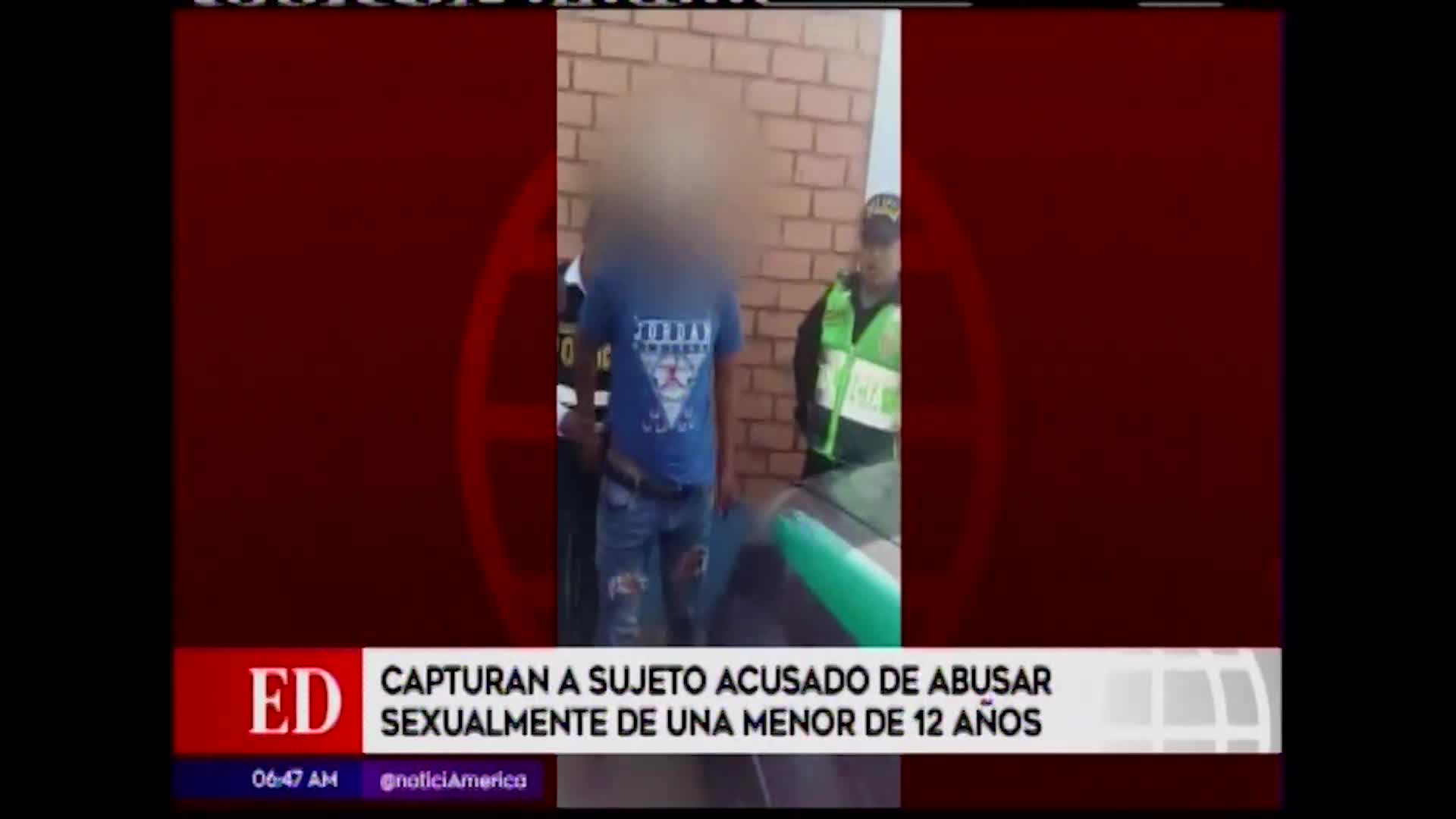 Sujeto que intentó violar a escolar de 13 años dentro de mototaxi fue capturado