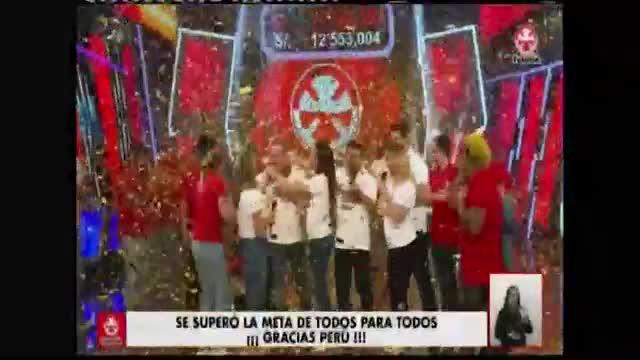 Teletón 2019: evento benéfico superó la meta y recaudó más de 12 millones de soles